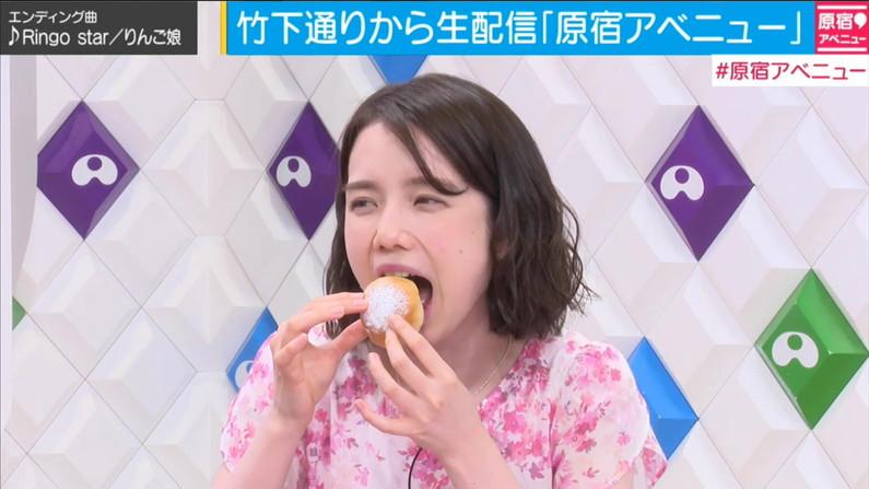 【疑似フェラキャプ画像】エロ顔満開で食レポする淫乱そうなタレント達ww 11