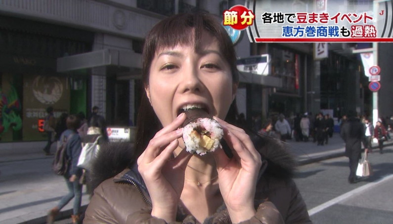 【疑似フェラキャプ画像】エロ顔満開で食レポする淫乱そうなタレント達ww 17