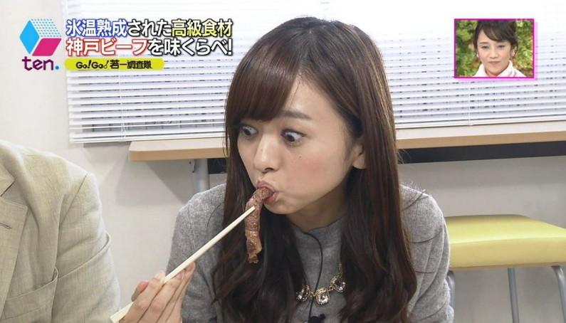 【疑似フェラキャプ画像】エロ顔満開で食レポする淫乱そうなタレント達ww 18