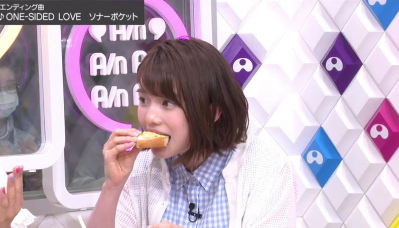 【疑似フェラキャプ画像】エロ顔満開で食レポする淫乱そうなタレント達ww 21