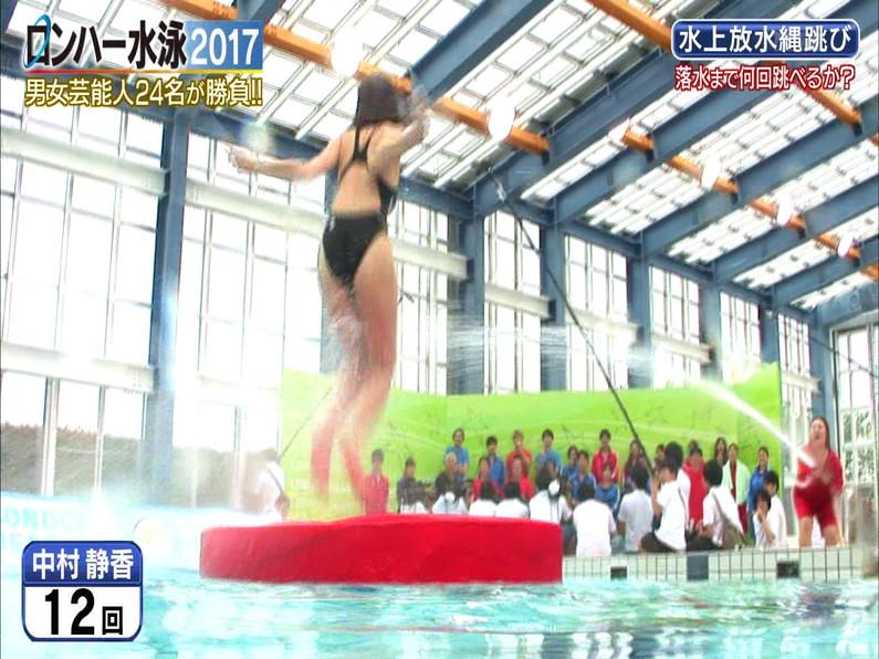 【お宝キャプ画像】ロンドンハーツの水泳大会で競泳水着が食い込みまくってやばいことにww 31