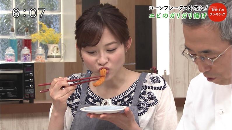 【疑似フェラキャプ画像】食レポの時にフェラ顔して夜のおかずになってくれるタレント達w 07