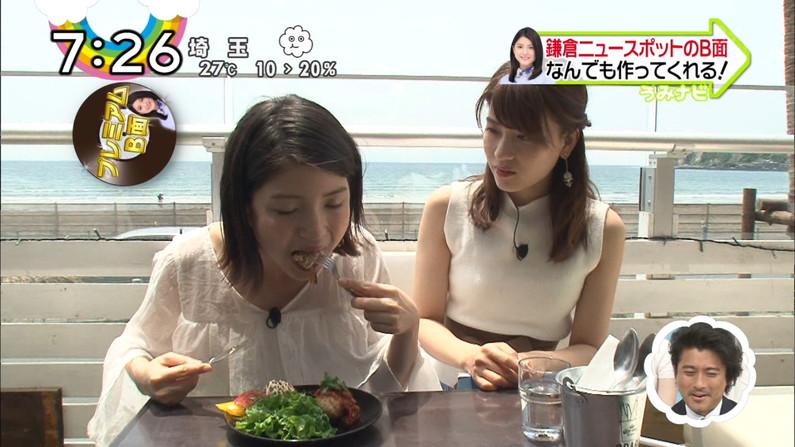 【疑似フェラキャプ画像】食レポの時にフェラ顔して夜のおかずになってくれるタレント達w 09