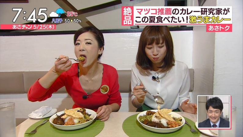 【疑似フェラキャプ画像】食レポの時にフェラ顔して夜のおかずになってくれるタレント達w 23