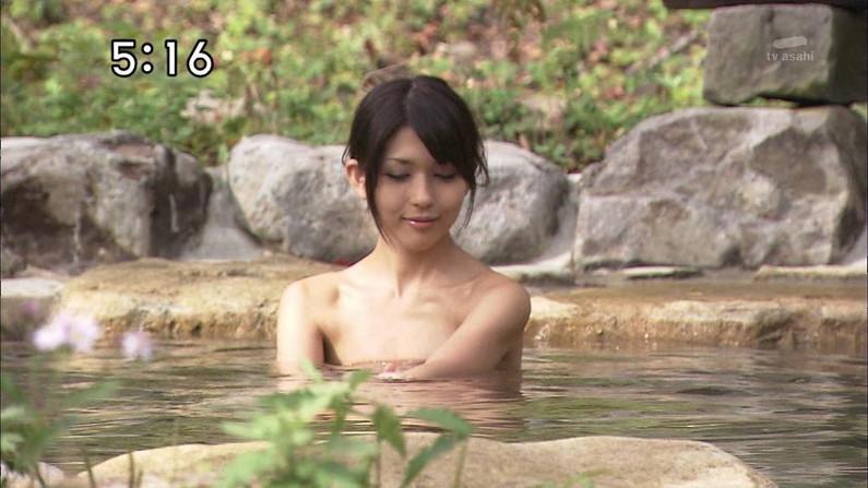 【温泉キャプ画像】温泉レポってやっぱり見てたら何かしらのポロリは期待するよなw 08
