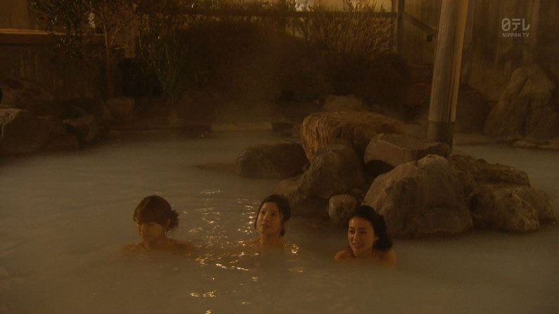 【入浴キャプ画像】ドラマとかで放送された女優さんのセクシーな入浴シーンw 05