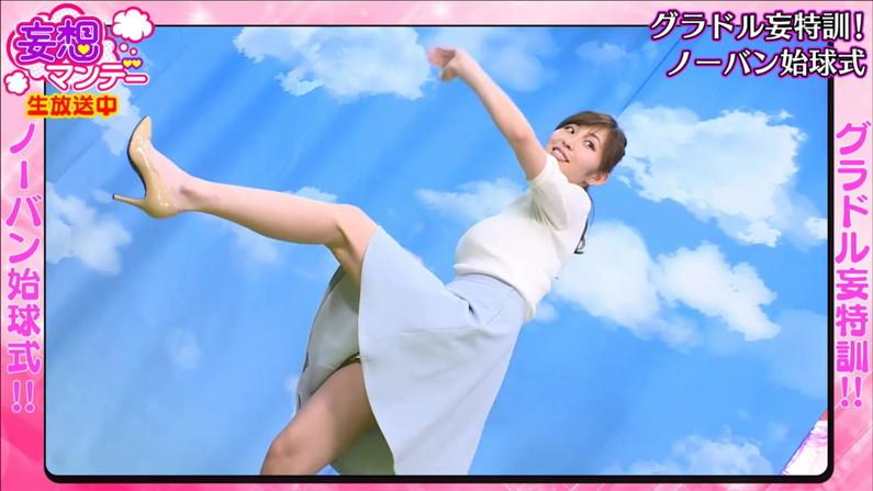 【太ももキャプ画像】タレントさん達のエロい生足が見放題wこんな生足見せてくれるんですかw 15