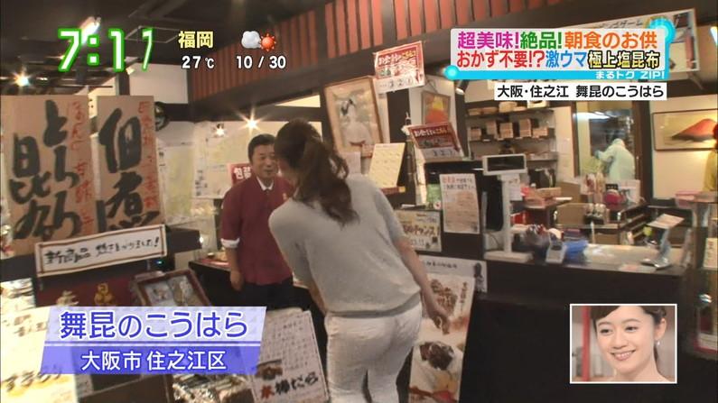 【お尻キャプ画像】ピタパン履いたお尻の形がくっきりなタレント達w 24