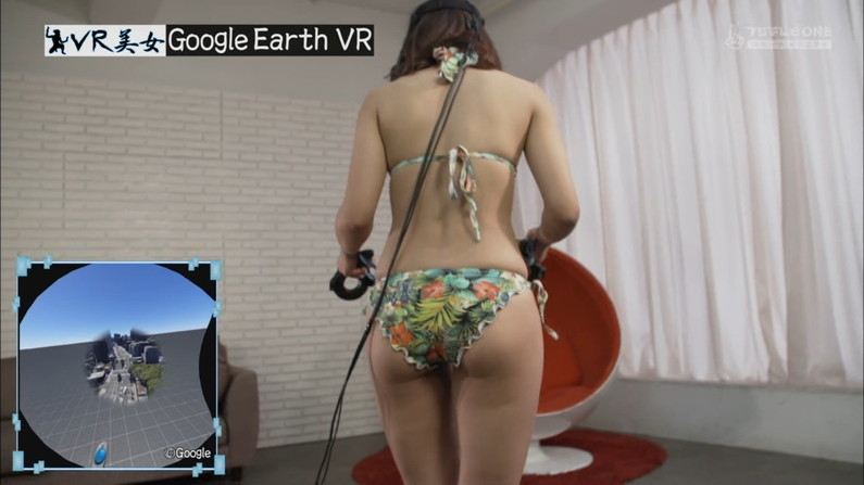 【お尻キャプ画像】水着姿や下着姿でテレビに出る美女達のハミ尻がたまらんw 24