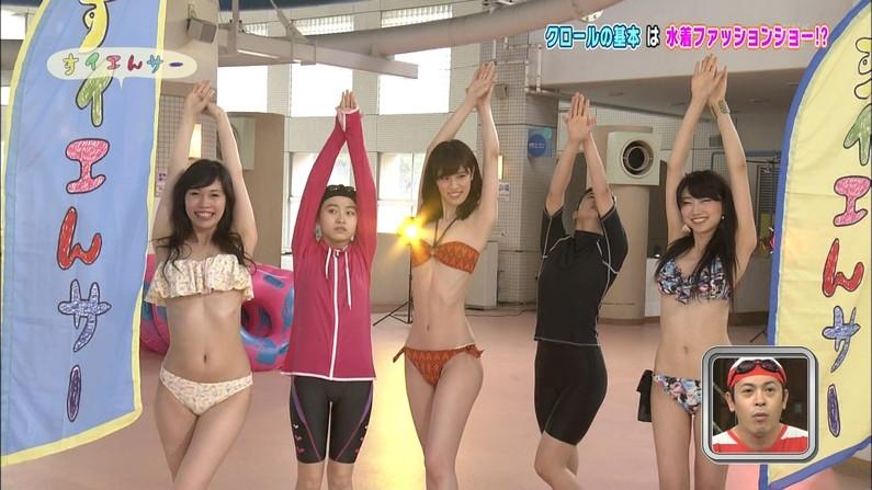 【水着キャプ画像】夏だ!水着だ!デカパイだ―wテレビに映るビキニ美女エロww 12