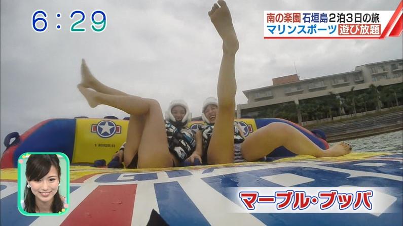 【おマ〇コキャプ画像】え!?テレビなのにこれハミマンしてね?ww 12