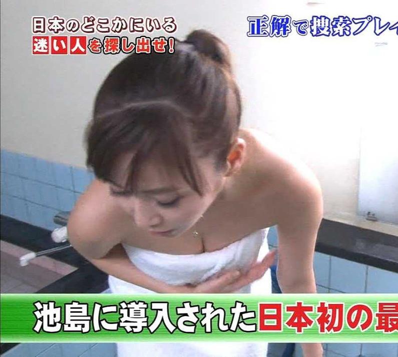 【温泉キャプ画像】テレビだからこそ見れる温泉レポする美女達の入浴姿w 01