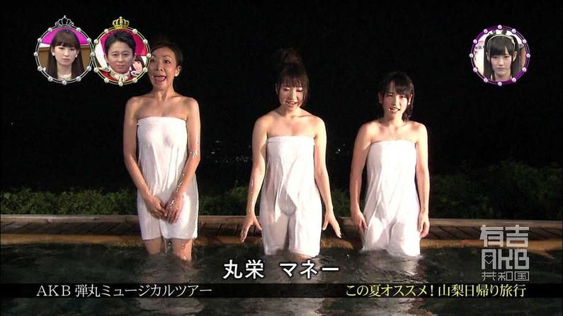 【温泉キャプ画像】テレビだからこそ見れる温泉レポする美女達の入浴姿w 03