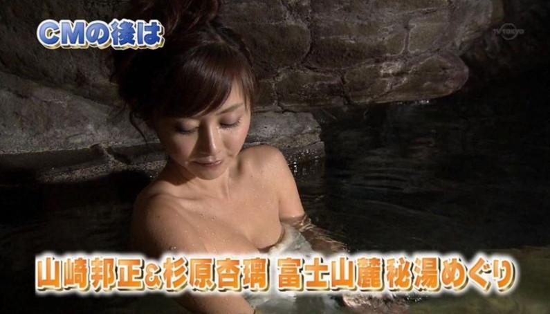 【温泉キャプ画像】テレビだからこそ見れる温泉レポする美女達の入浴姿w 17