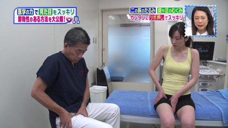 【太ももキャプ画像】テレビで露出するそのエロい太ももで膝枕させてとお願いしたくなるw 07