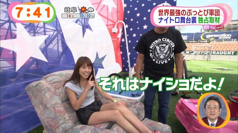【太ももキャプ画像】テレビで露出するそのエロい太ももで膝枕させてとお願いしたくなるw 21