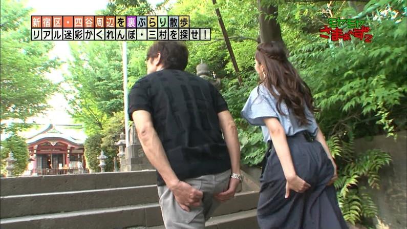 【お尻キャプ画像】タレント達がピタパン履いてパン線まで見せまくりww 06