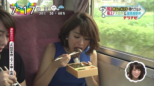【疑似フェラキャプ画像】食レポする時どうしてもフェラ顔になっちゃうスケベなタレント達w 07