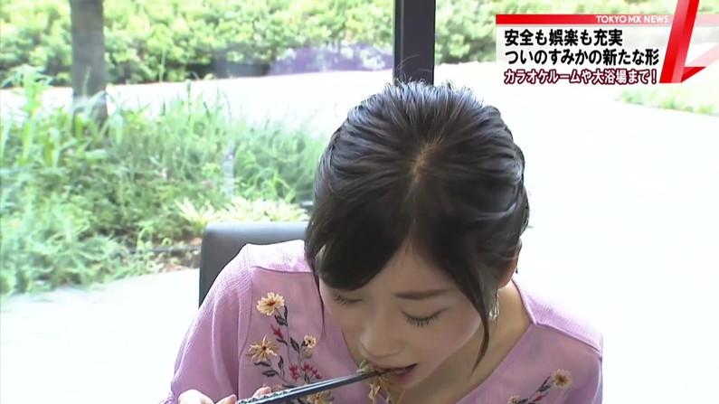 【疑似フェラキャプ画像】食レポする時どうしてもフェラ顔になっちゃうスケベなタレント達w 23