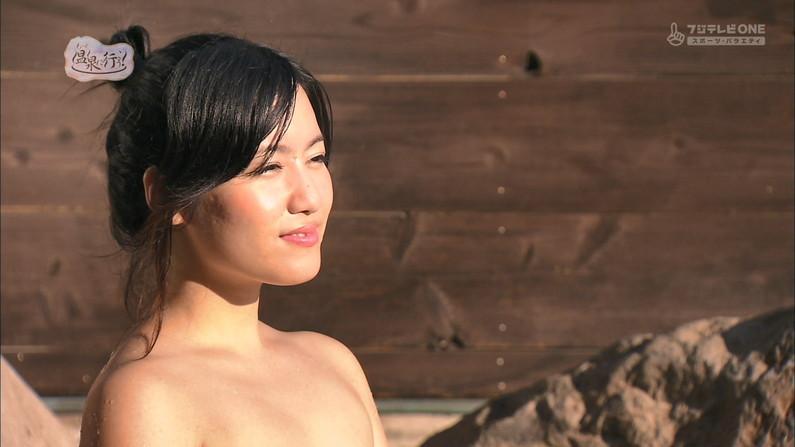 【温泉キャプ画像】何が起こるかわからない!美人なタレントさん達の入浴シーンww 10