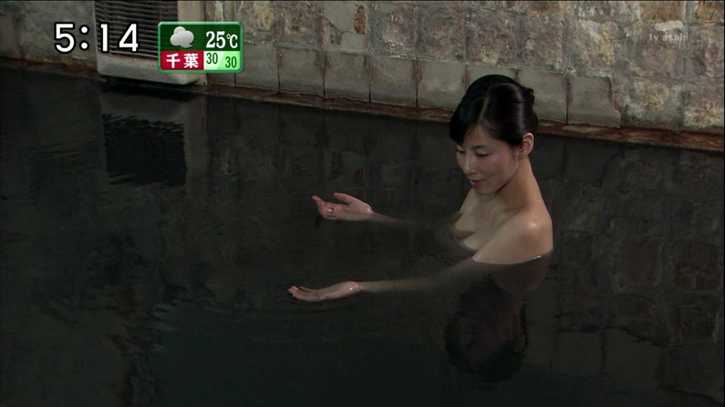 【温泉キャプ画像】何が起こるかわからない!美人なタレントさん達の入浴シーンww 22