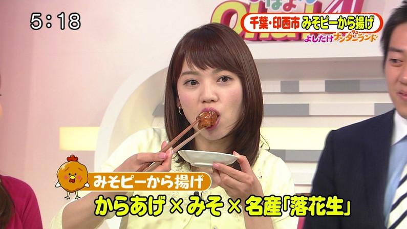 【疑似フェラキャプ画像】どんな妄想しながら食レポしたらそんなエロい顔になるんだよ?ww 21