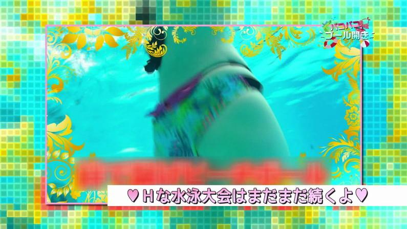 【お宝キャプ画像】バコバコプール開きとか言うコーナーで美女達が水着姿で色々やらされてるぞw 06