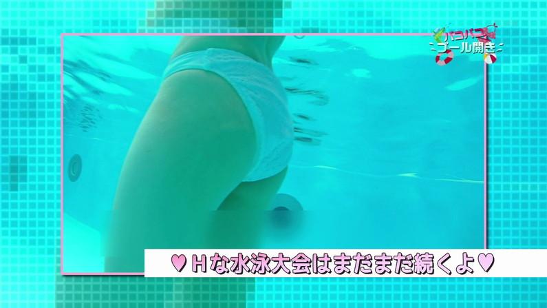 【お宝キャプ画像】バコバコプール開きとか言うコーナーで美女達が水着姿で色々やらされてるぞw 07