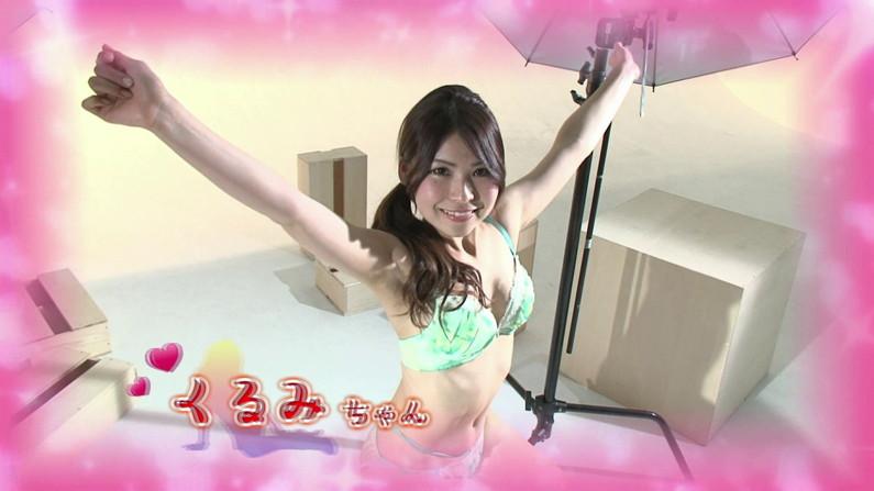 【お宝キャプ画像】バコバコプール開きとか言うコーナーで美女達が水着姿で色々やらされてるぞw 24
