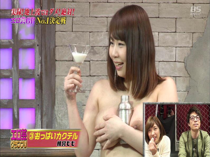 【お宝エロ画像】エロ芸グランプリとか言う企画でアキラ100%より凄い美女が現るwwwwww 34