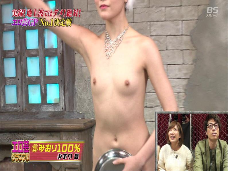 【お宝エロ画像】エロ芸グランプリとか言う企画でアキラ100%より凄い美女が現るwwwwww 51