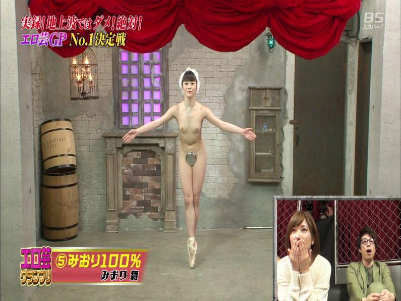 【お宝エロ画像】エロ芸グランプリとか言う企画でアキラ100%より凄い美女が現るwwwwww 57