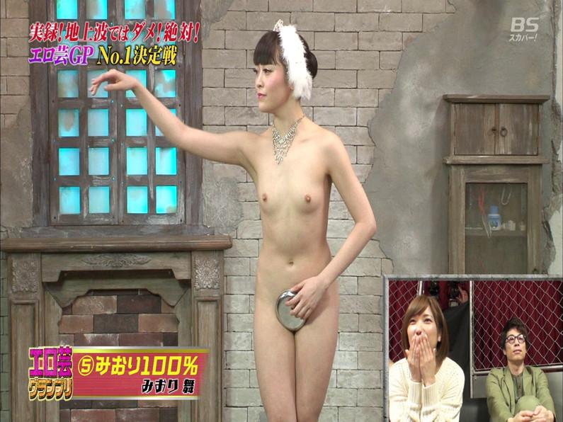 【お宝エロ画像】エロ芸グランプリとか言う企画でアキラ100%より凄い美女が現るwwwwww 58