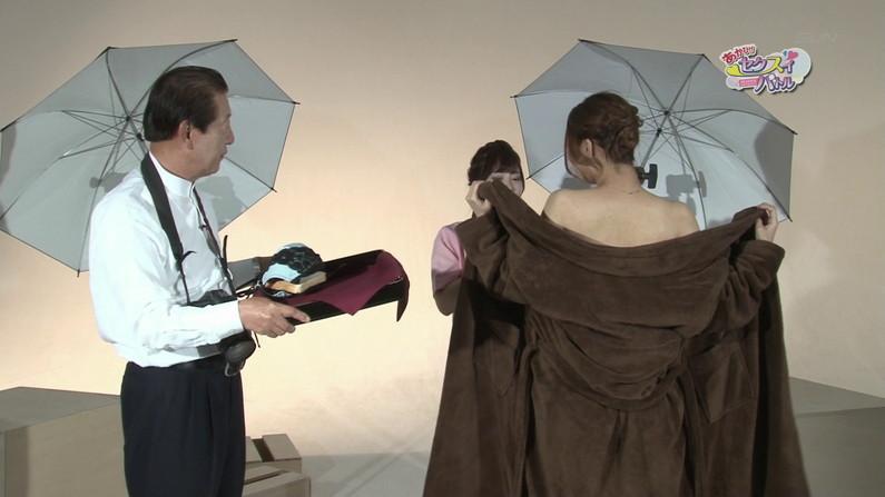 【お宝エロ画像】ケンコバのバコバコTVで美女達の生着替え!あわや乳首ポロリか!?w 56