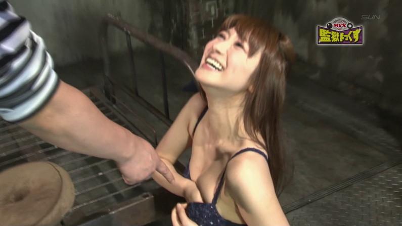 【お宝エロ画像】ケンコバのバコバコTVで美女達の生着替え!あわや乳首ポロリか!?w 73