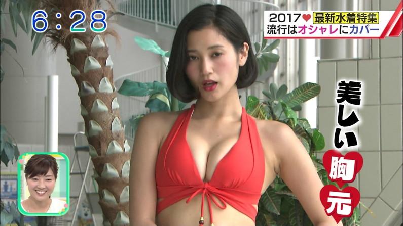 【水着キャプ画像】この時期は巨乳のビキニ姿がテレビに映りまくるからいいよなぁw 16