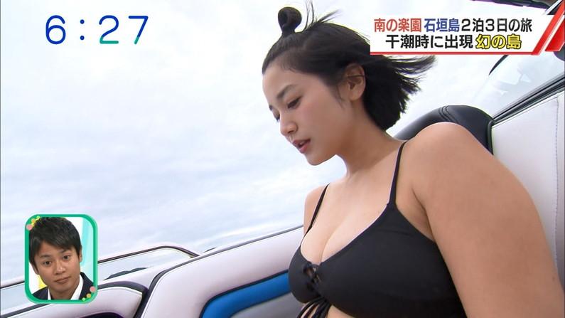 【水着キャプ画像】この時期は巨乳のビキニ姿がテレビに映りまくるからいいよなぁw 23