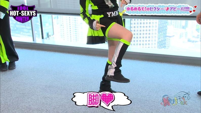 【太ももキャプ画像】タレント達のスラット綺麗な脚がエロくてたまらんw 21