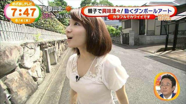 【透けブラキャプ画像】テレビなのに思いっきりブラジャー透けてる衣装着てるタレント達w 05