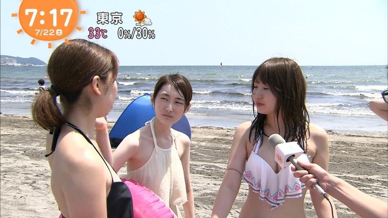 【水着キャプ画像】今年もエロい水着着た素人美女が映りまくりww 07