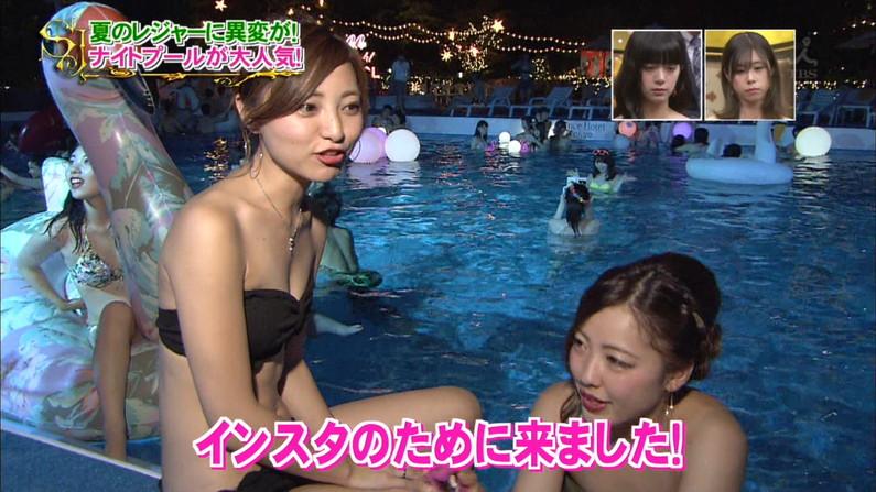 【水着キャプ画像】今年もエロい水着着た素人美女が映りまくりww 15