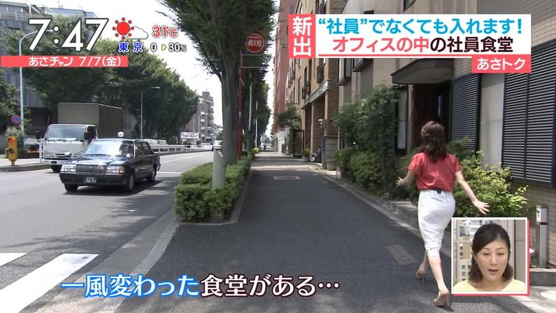 【お尻キャプ画像】テレビでタレント達がパンツラインまで見えちゃうピタパン履いてるぞw 13