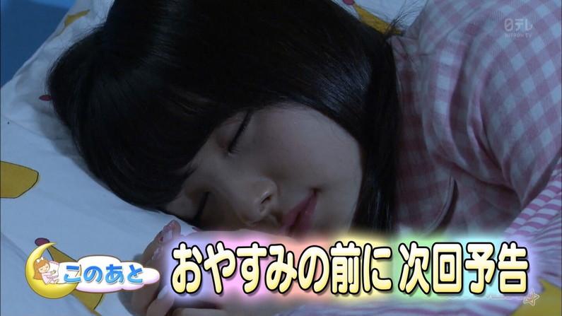 【寝顔キャプ画像】寝顔見てたら夜這い仕掛けたくなるタレント達の可愛い寝顔w 08