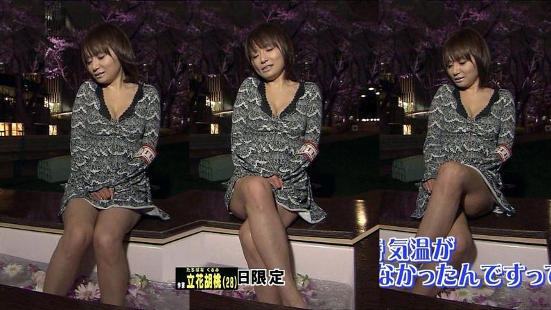 【太ももキャプ画像】テレビで見せるタレント達のエロい太ももがタマランw 06