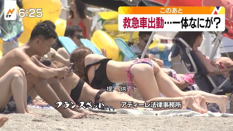 【お尻キャプ画像】テレビに映ってたこの水着からはみ出たお尻めちゃくちゃえろくね?w 09