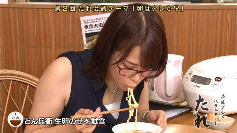 【疑似フェラキャプ画像】どうしても卑猥な目で見てしまうタレント達の食レポw 21