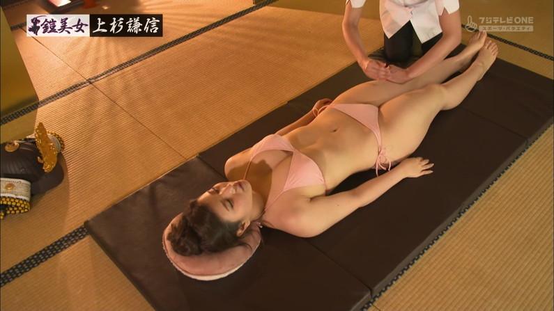 【エステキャプ画像】美女達のはみ出した生乳見放題のエステキャプ画像ww 03