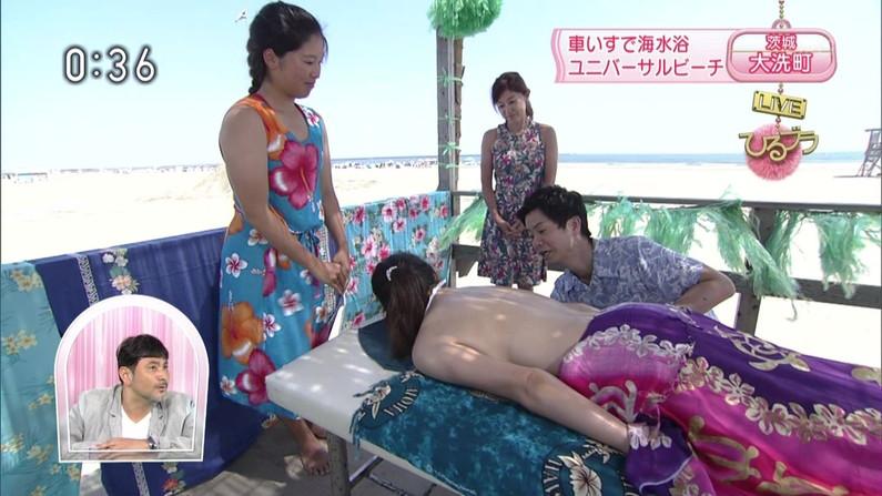 【エステキャプ画像】美女達のはみ出した生乳見放題のエステキャプ画像ww 10