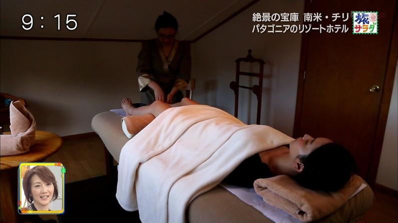 【エステキャプ画像】美女達のはみ出した生乳見放題のエステキャプ画像ww 13