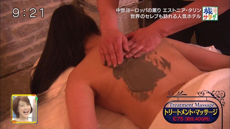【エステキャプ画像】美女達のはみ出した生乳見放題のエステキャプ画像ww 23